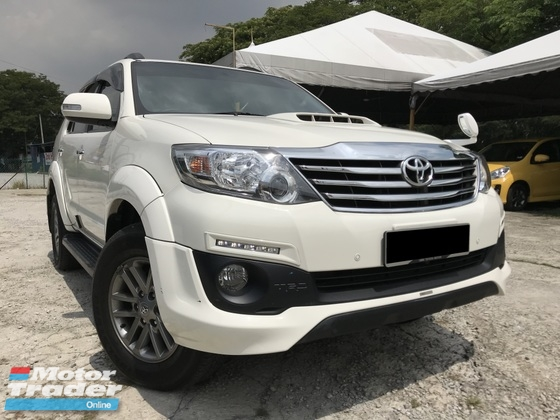 2015 TOYOTA FORTUNER 2.5 (A) TRD SPORTIVO DIESEL 27K KM ONLY FULON | RM 123,999 | Used Car for ...